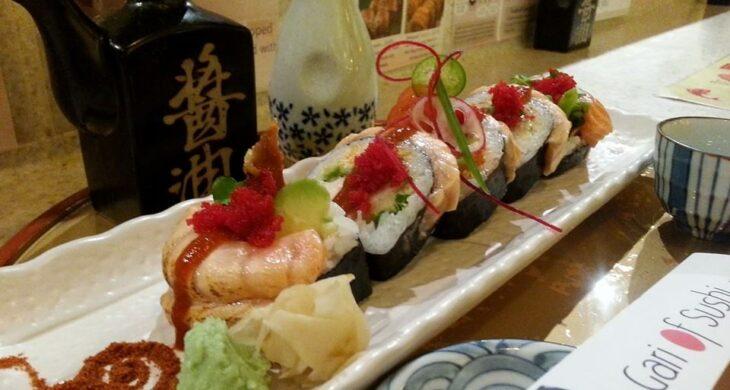 sushi at gari of sushi