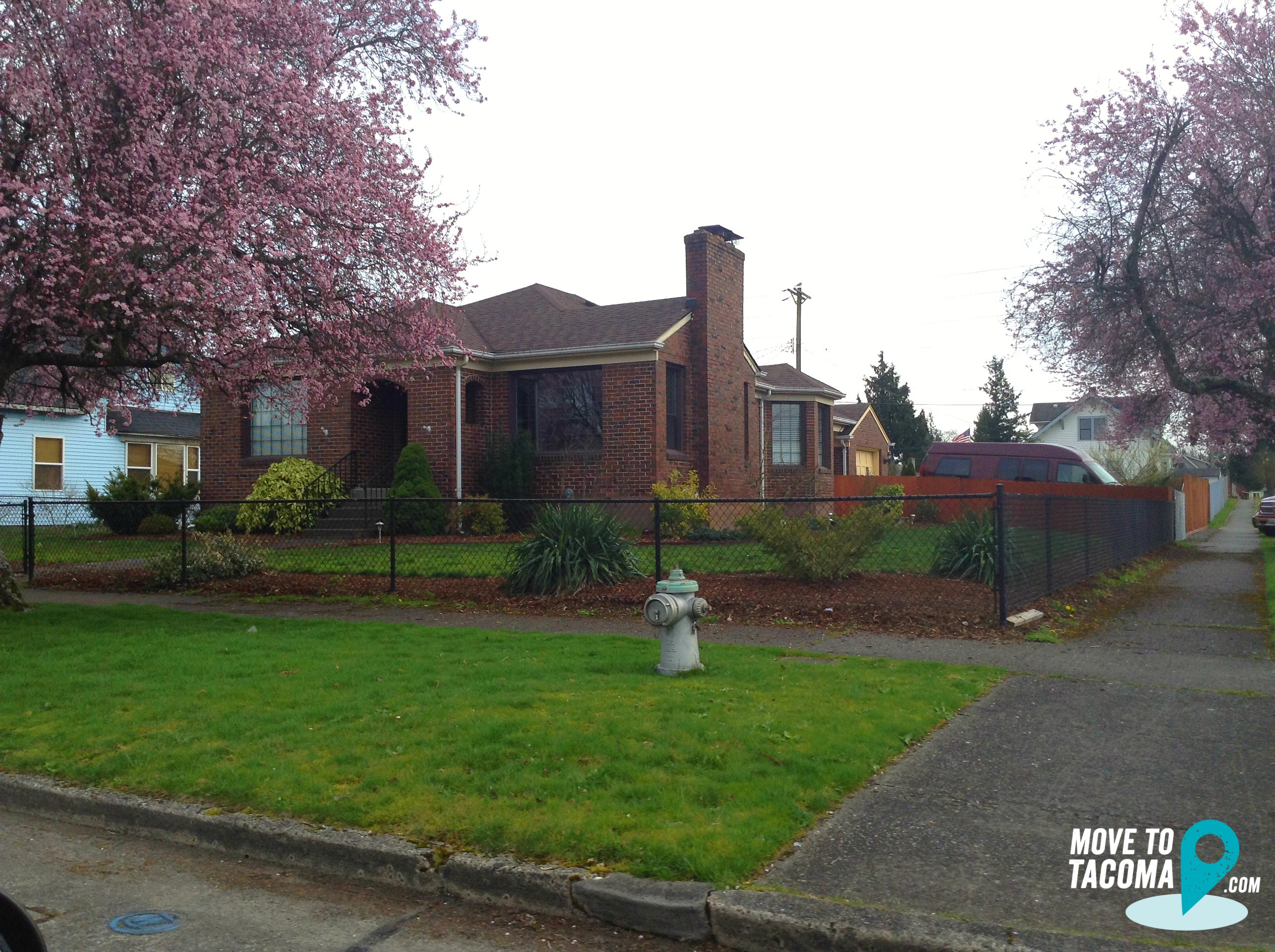 Brick house on the eastside of tacoma wa