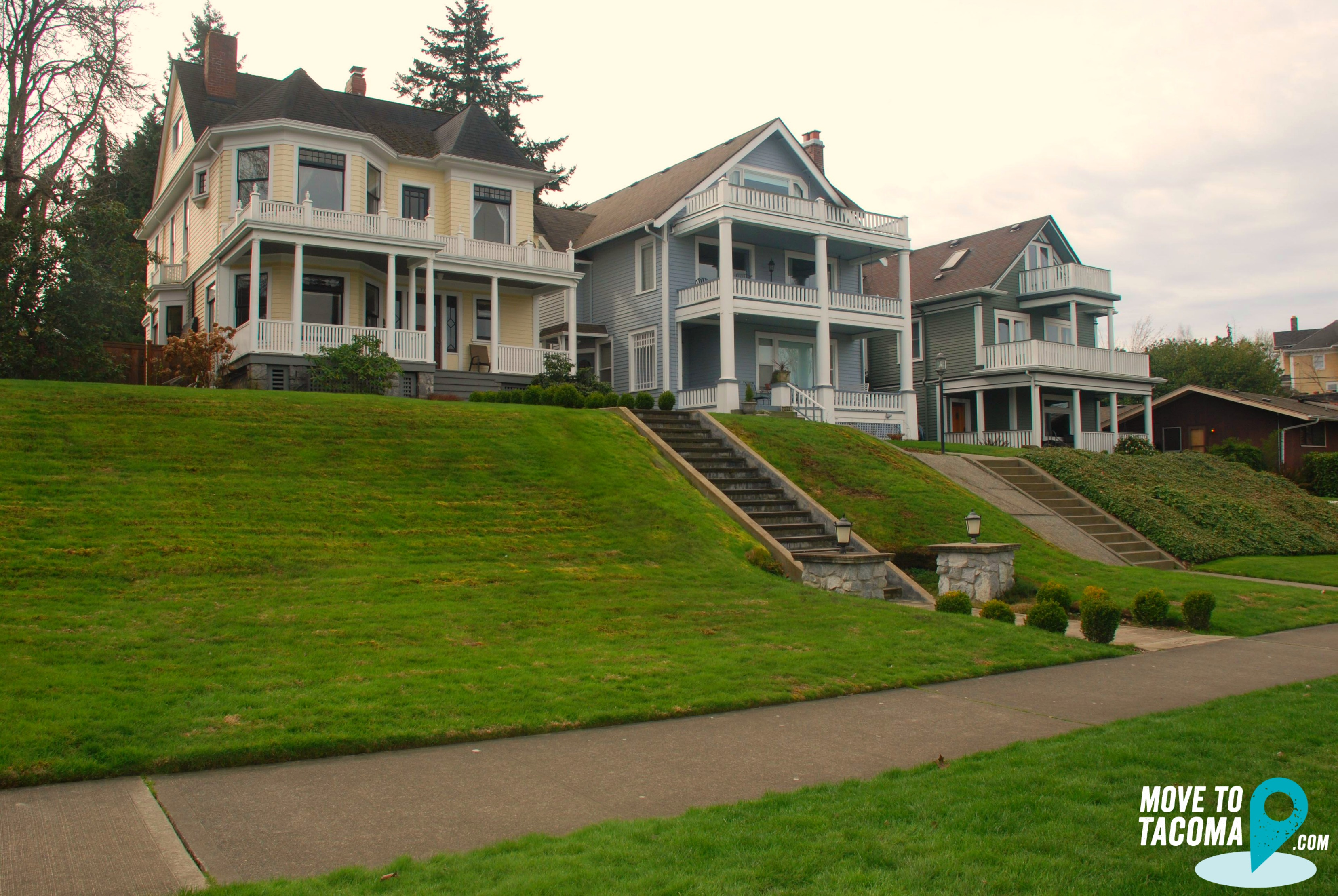 HIstoric Homes in North Tacoma WA.