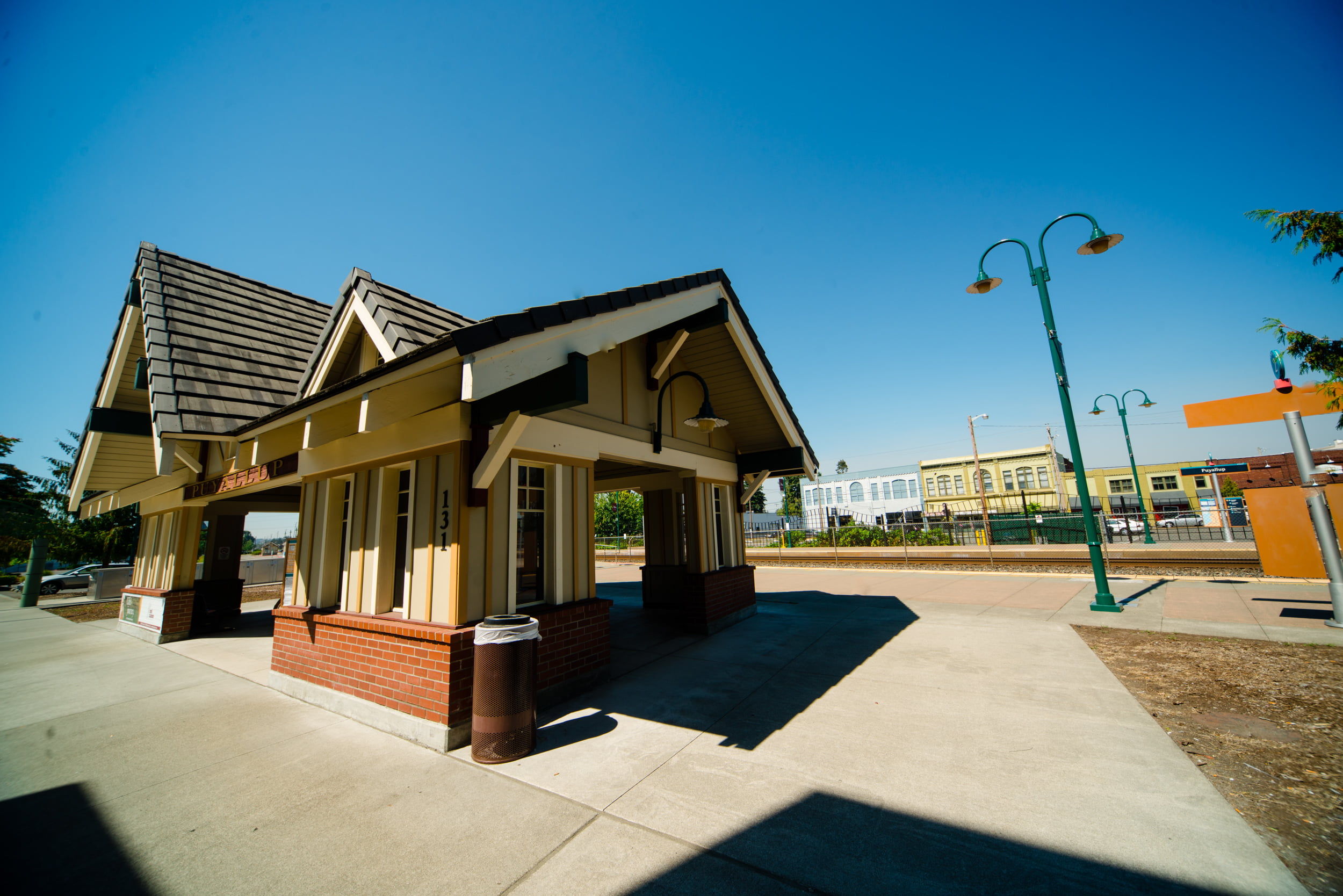 Sounder Station Downtown Puyallup