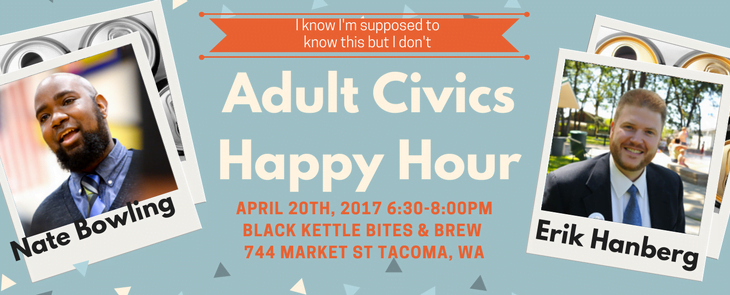 the first adult civics happy hour