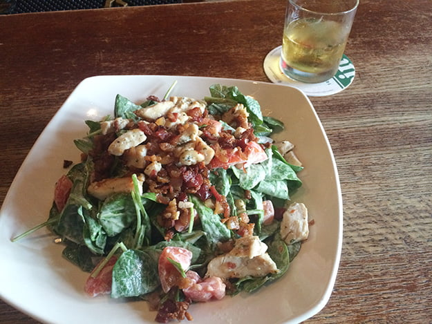 Doyle's even has salad. IF that's your thing.