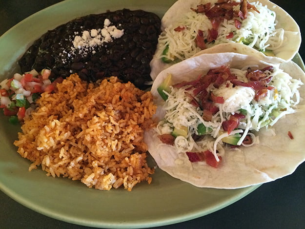 The Matador serves up a delectable selection of tacos.